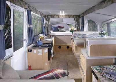 Premium Starcraft Popup With Air And Slideout T Camper