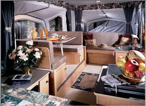 Pop up camper interior ideas for Pop up camper interior designs